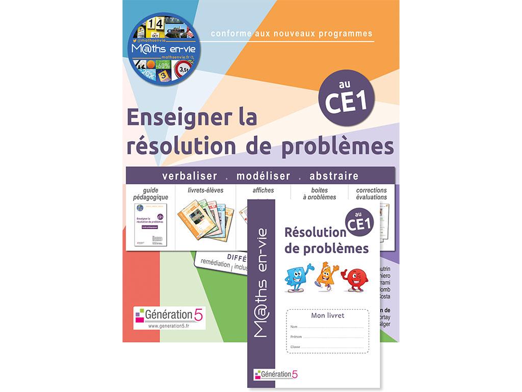 Enseigner la résolution de problèmes au CE1 - maths