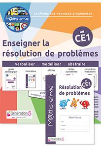 M@ths en-vie - Enseigner la résolution de problèmes au CE1