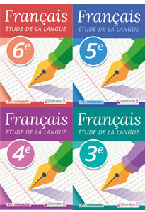 PACK 4 LOGICIELS FRANÇAIS Étude de la langue (6e-3e)