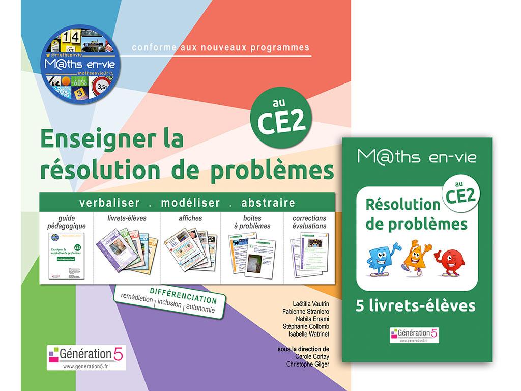 M@ths en-vie - Enseigner la résolution de problèmes au CE2
