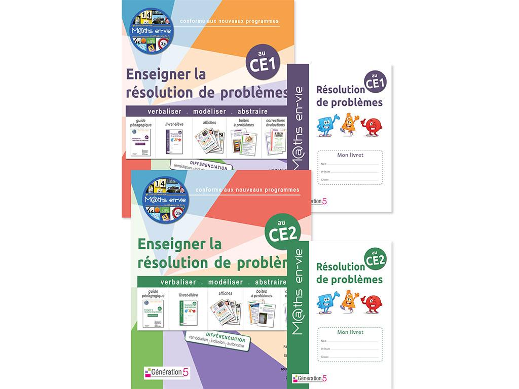 Pack - Enseigner la résolution de problèmes au CE1 et CE2