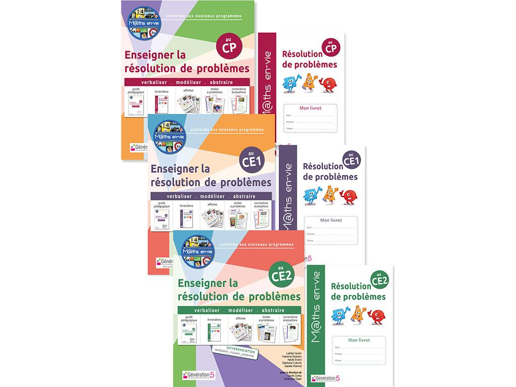 Pack - Enseigner la résolution de problèmes au CP, CE1 et CE2