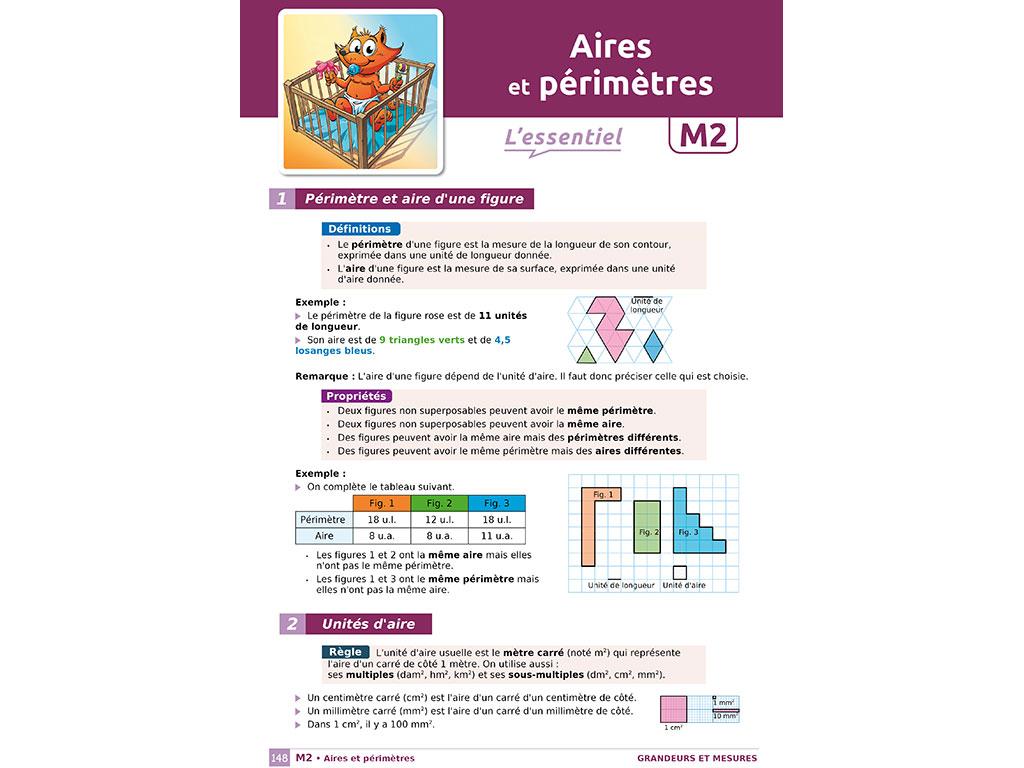 Rappel de cours - cahier iParcours 6e