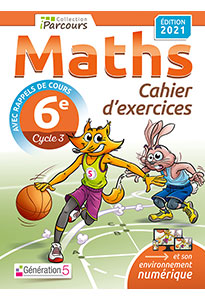 Cahier d'exercices iParcours MATHS 6e (éd. 2021)