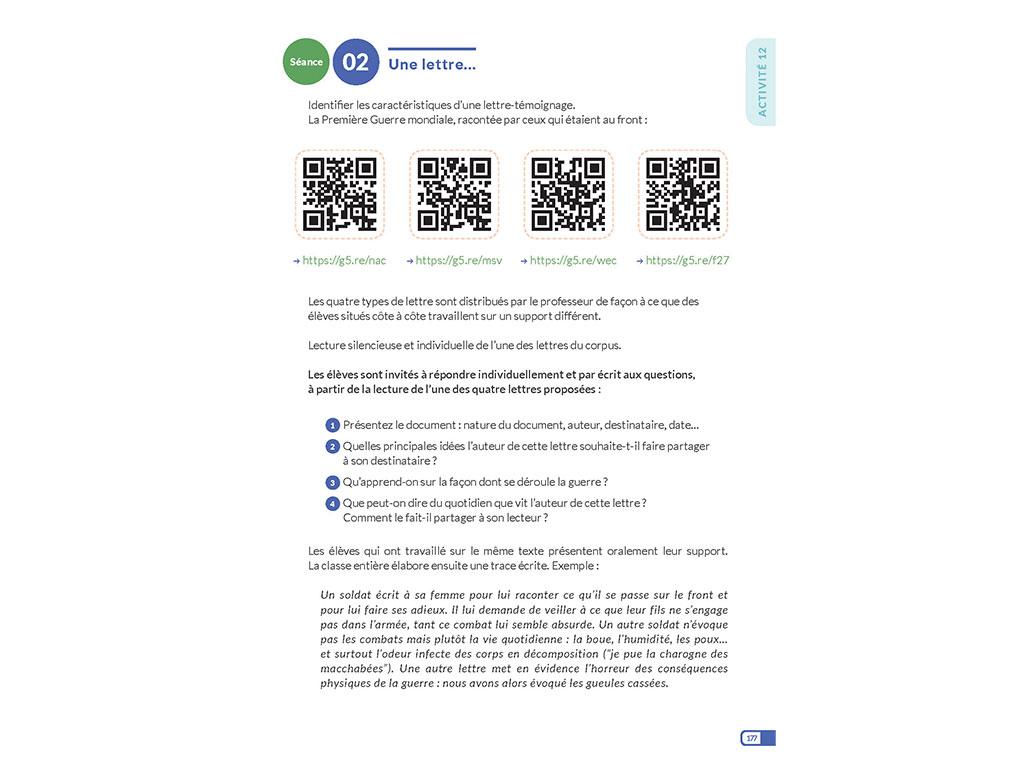 QR-codes - Enseigner l'oral