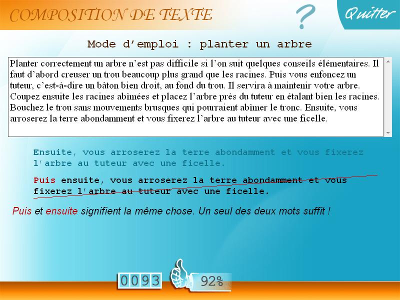 Soutien Scolaire Français Ce2