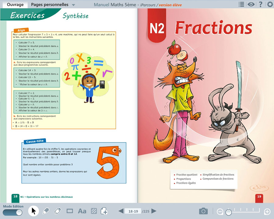 Page 18 et page 19