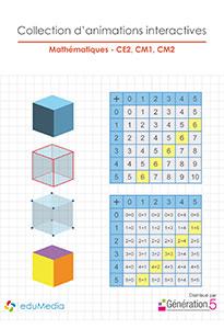 Animations interactives : Mathématiques (CE2-CM1-CM2)