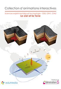 Animations interactives : Le ciel et la Terre (CE2-CM1-CM2)
