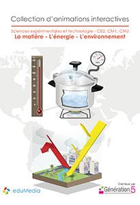 Animations interactives : La matière - L'énergie - L'environnement (CE2-CM1-CM2)