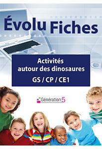 Evolu Fiches - Activités autour des dinosaures
