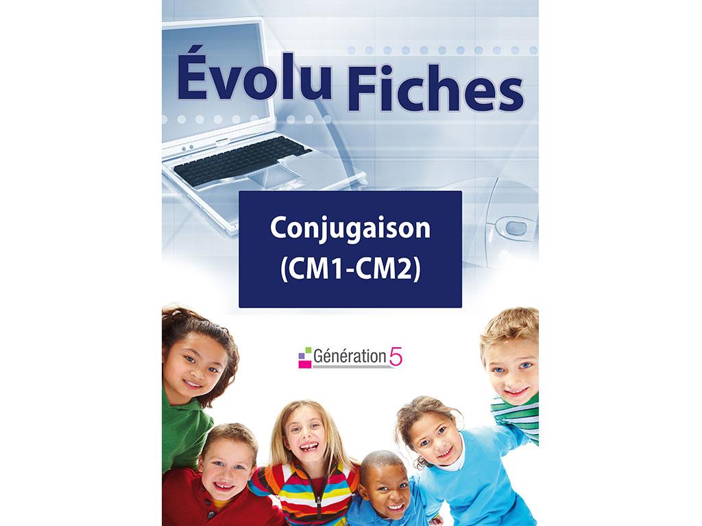 Evolu Fiches - Conjugaison (CM1-CM2)