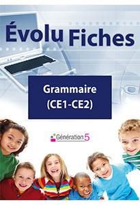 Evolu Fiches - Grammaire (CE1-CE2)
