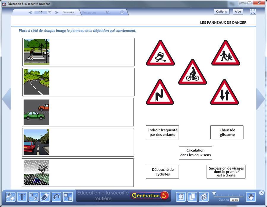 Connu Education à la Sécurité Routière - Vidéoprojection et TBI VS33