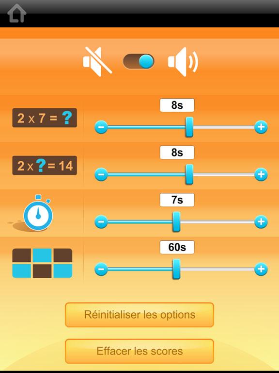 Multi tables les tables de multiplication - Logiciel educatif tables de multiplication ...