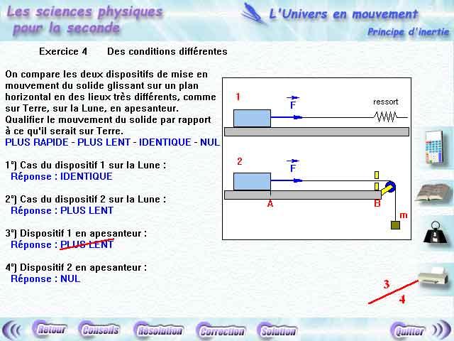 Physique Seconde