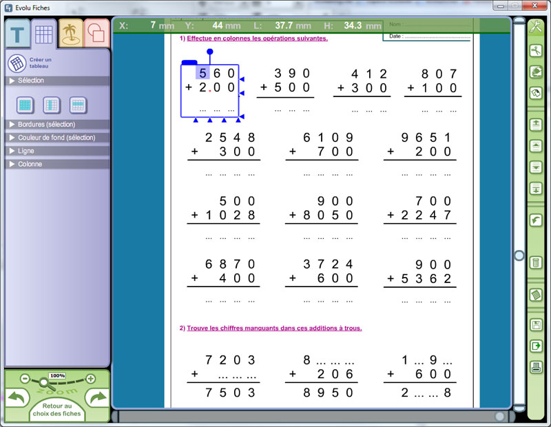 Evolu Fiches Numeration Et Operations Au CE2 365 22175 Ens on Decoder Math Worksheets