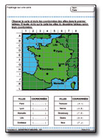 Reperage sur une carte