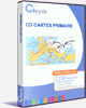 CD-CARTES Histoire Primaire (Cycle 3)