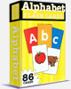 Alphabet - Flash Cards en anglais